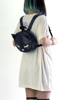 Osumashi Poo-chan Face Mini Backpack (F) LIS-419918-B LISTEN FLAVOR APPAREL/ See more at http://www.cdjapan.co.jp/apparel/  #Japanesefashion