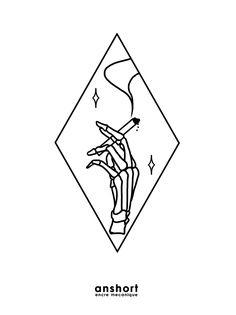 Sad Drawings, Pretty Drawings, Skeleton Hand Tattoo, Bone Tattoos, Magazine Collage, Tattoo Stencils, Dope Art, Future Tattoos, Skull Art