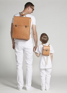 father & son bag