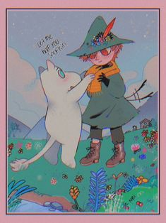 Aesthetic Drawing, Aesthetic Art, Les Moomins, Moomin Valley, Trash Art, Cartoon Shows, Little My, Pretty Art, Kawaii Anime