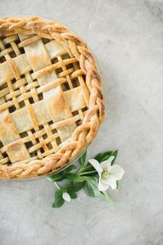 Plaid Crust Apple Pie Recipe