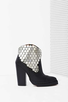 Jeffrey Campbell Quigley Leather Boot | Shop Jeffrey Campbell at Nasty Gal $220