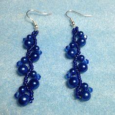 New year earrings