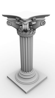 Corinthian Pillars Columns