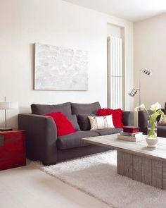 45m² - moderno - Barcelona  | MICASA Revista de decoración - sala / sofa