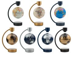 Flying globes