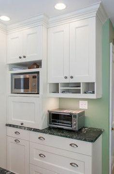 White Cabinet Kitchens On Pinterest Granite Countertops