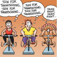 Thanksgiving Exercise Advice to Keep You Trim – N2SHAPE