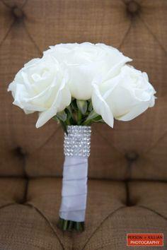 Boston Wedding Photography, Boston Event Photography, Classic White Bouquet, Traditional White Wedding Bouquet, White Bridal Bouquet, Boston Wedding Florist, Carol Silverston The Original Touch, White Rose Bouquet, Elegant Rose Bouquet