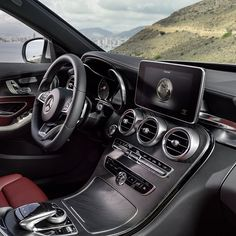 The unique display in the all-new C-Class was built so that our designers could provide the largest screen with the best viewing angle while maintaining the integrity of the dash design. In other words: to provide the best of both worlds. #CClass #mercedes #benz #instacar