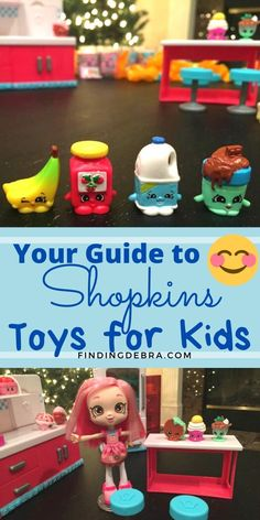 For parents and kids - your guide to the Shopkins toys, including the Shopkins Chef Club, app, and QR code for extra fun. Discover Shopkins toys, playsets and more and what we learned about them in the process. Games For Kids, Activities For Kids, Crafts For Kids, Toddler Toys, Baby Toys, Shopkins Chef Club, Toy Camera, Best Kids Toys, Toy Kitchen