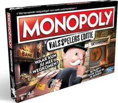 Hasbro Games Monopoly Cheaters Edition - Make this wildly different Monopoly game a favourite go-to game for family nights and other fun get-togethers. Monopoly Board, Monopoly Game, Monopoly Party, Prison, Cluedo, Monopole, Gaming, Game Guide, Got Caught