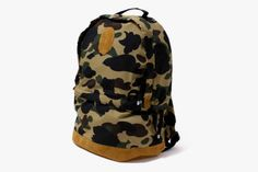 BAPE Ape Head Patch Day Bag