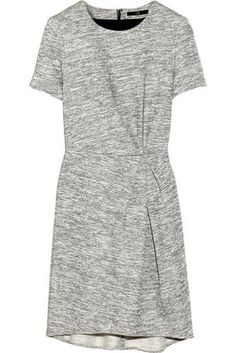 "Even if your office doesn't have a ""dress code"" in place, you'll be happy you have a polished sheath dress in your closet for everything from interviews to a big presentation at work. Choose one like this Tibi marled french terry dress ($300) that's easy to change up with a blazer or tights and your footwear of choice."