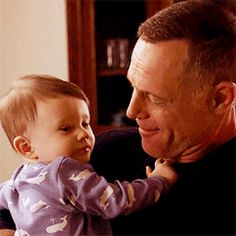 Voight & Daniel - So freaking cute! Chicago Police, Nbc Chicago Pd, Chicago Shows, Chicago Med, Chicago City, Hank Voight, Erin Lindsay, Becoming A Cop, Jason Beghe