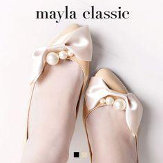 mayla classic モナ 4.5CM ラウンドトゥパンプス
