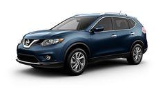 2015 Nissan Rogue in Arctic Blue Metallic
