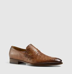 ostrich loafer