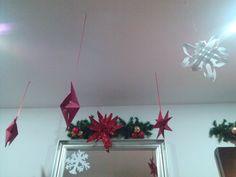 #Christmas #decoration #Navidad #Decoración #Ideas #Estrellas #Copos