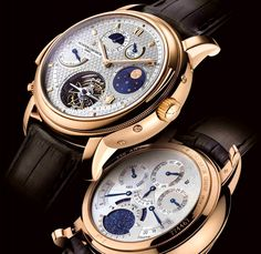 Vacheron Constantin Tour de I'lle  One of the most prestigious and oldest Swiss brand Vacheron Constantin introduced on the occasion of its 250th anniversary the most complex wristwatches Tour de L'lLe.  Limited edition of seven timepieces with price of $ 1.5 million per each piece.
