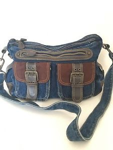 Jeans Denim Bag Designer Fashion Boho Hip Multi Pockets | eBay