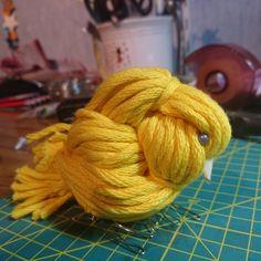 毛糸を結んで作る小鳥がカワイイ!作り方と5つの飾り方! - CRASIA