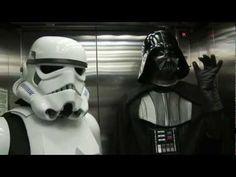 Star Wars Helsinki Metro Invasion.