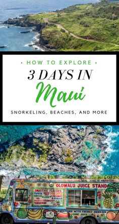 Travel Guide: 3 Days in Maui Itinerary - Activities, Beaches, Accommodation + more to make your Hawaii vacation worth while! | Wanderlustyle.com
