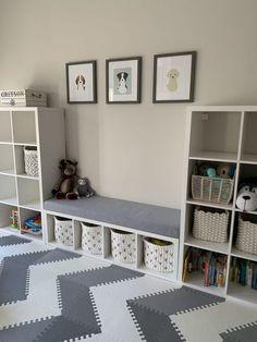 Family Room Playroom, Playroom Shelves, Small Playroom, Toddler Playroom, Playroom Design, Kids Room Design, Playroom Decor, Baby Room Decor, Kids Bedroom