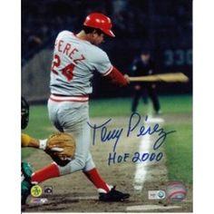 """Tony Perez """"HOF 2000"""" Autographed 8x10"""