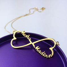 1d7087d64157 Personlized Jewelry Gallery · Corazón Infinito
