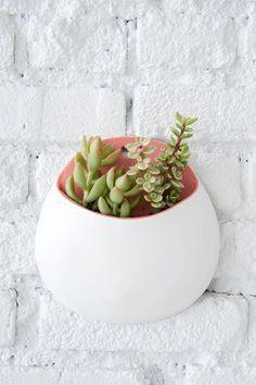 DIY wall planters   designlovefest