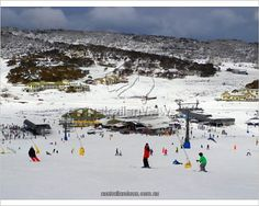 Perisher village Photographic Prints from $19.99