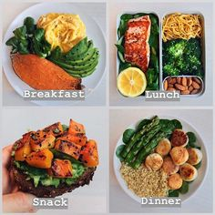 """I Eat in a Day"""" Inspo *Swipe for 4 simple but delicious healthy meal plan . """"What I Eat in a Day"""" Inspo *Swipe for 4 simple but delicious healthy meal plan .""""What I Eat in a Day"""" Inspo *Swipe for 4 simple but delicious healthy meal plan . Lunch Snacks, Clean Eating Snacks, Healthy Eating, Healthy Meal Prep, Healthy Snacks, Healthy Recipes, Dinner Healthy, Vegetarian Fast Food, Vegan Food"""