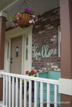 4 Low Budget High Impact Ways to Add Curb Appeal by Start at Home Decor