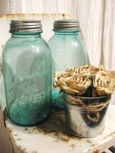 vintage ball jar. awesome.
