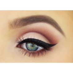 Sleek Makeup Kajal Eyeliner Odyssey Review, Swatches EOTD featuring polyvore, beauty products, makeup, eye makeup, eyeliner and eyes #howtocutcrease