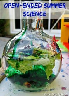 Planet Smarty Pants: Open Ended Summer Science #stemactivities