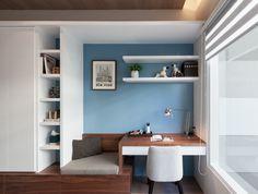 Ideas For Home Office Design Interior Bureaus Bedroom Desk, Home Bedroom, Bedrooms, Office Interior Design, Interior Decorating, Office Designs, Study Table Designs, Home Office Desks, Small Spaces