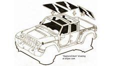 Allpar Member Reveals Wrangler Pickup Concept