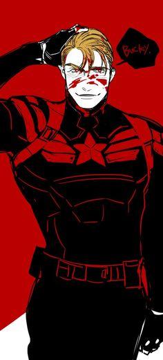 Stucky steve x bucky Hydra Captain America, Captain Hydra, Chris Evans Captain America, Hail Hydra, Marvel Funny, Marvel Memes, Marvel Avengers, Evil Villains, Superhero Villains