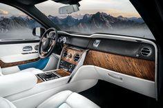Rolls-Royce unveils the Cullinan SUV - the brand's first luxury Rolls Royce Suv, New Rolls Royce, Rolls Royce Motor Cars, Las Vegas, Rolls Royce Cullinan, Car Interior Design, Cars Uk, Arquitetura, Interiors