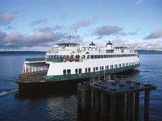 The ferry at Vashon ~ Island Hopping