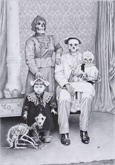 Skull family #skull #skulls #obsessedwithskulls