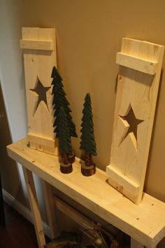 A Fun Do It Yourself Natural Wood Project by UniquePrimtiques, $18.95