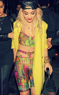 rita ora always juss be style'n my nigga..