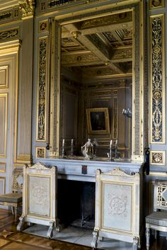 Salon Louvois, Château d'Ancy-le-Franc