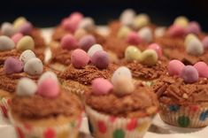 Easter Nest Cupcakes recipe