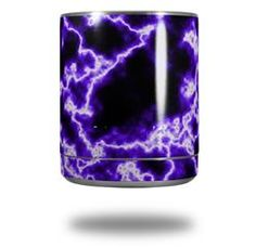 Electrify Purple - Decal Style Skin Wrap fits Yeti Rambler Lowball (YETI NOT INCLUDED)