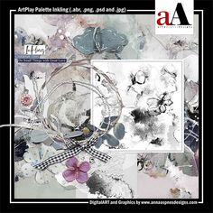 ArtPlay Palette Inkling Released 25 January 2019 #annaaspnes of #aA designs #annaaspnes #digitalart #digitalartist #digitalartistry #digitalcollage #collage #digitalphotography #photocollage #art #design #artjournaling #digital #digital #scrapbooking #digitalscrapbooking #scrapbook #modernart #memorykeeping #photoshop #photoshopelements